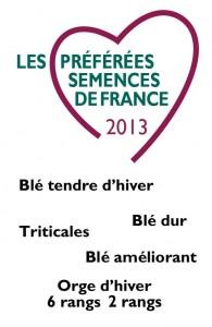 Les Variétés Préférées 2013
