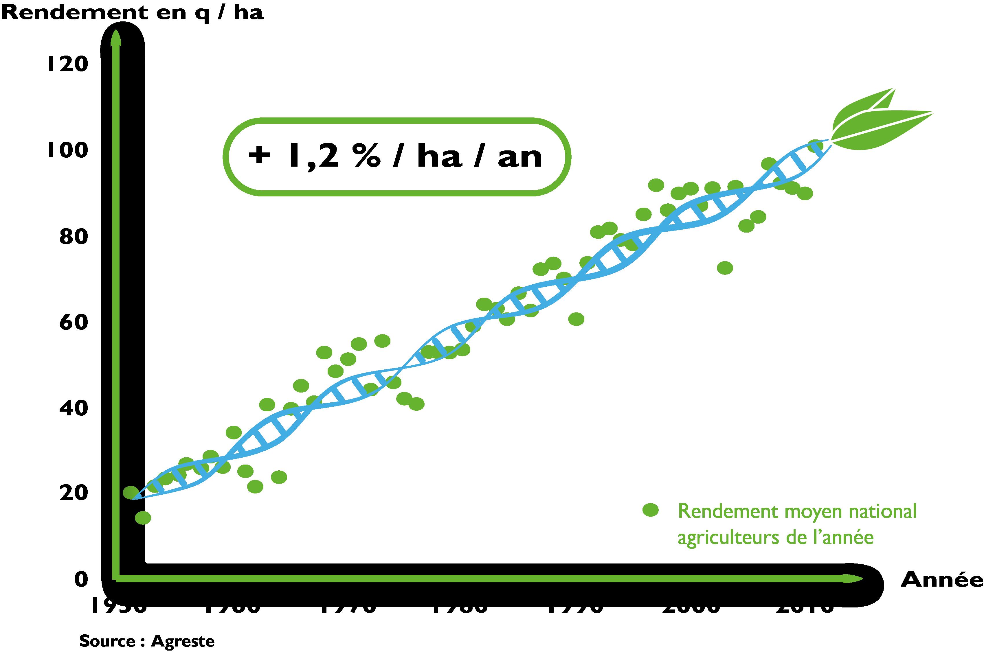 graphique progre genetique mais web