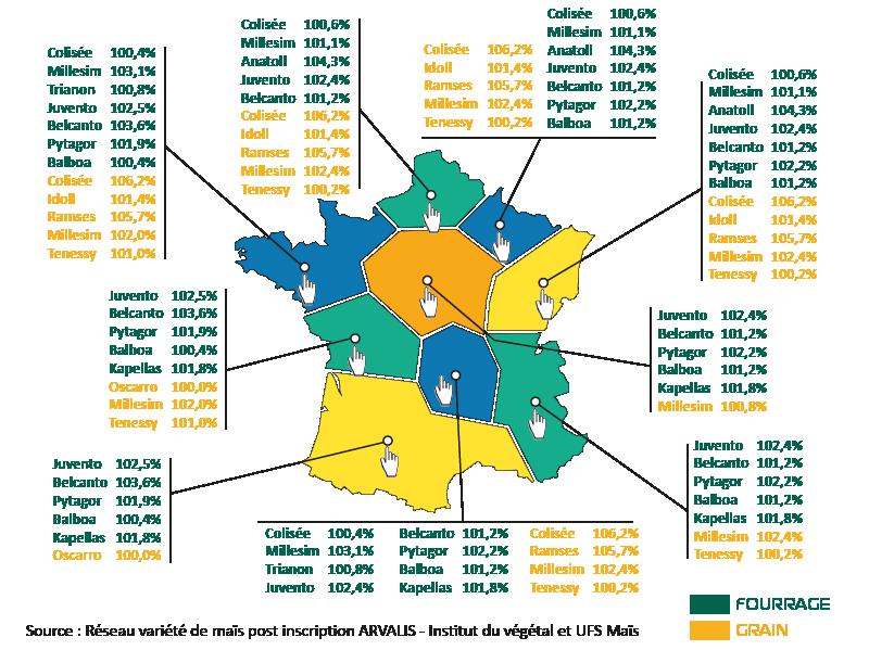 Visualisez la carte des Régions