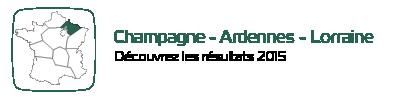 Résultats pour la région Champagne-Ardennes Lorraine