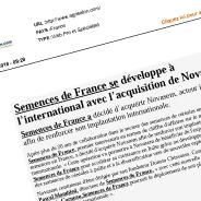 Flash Infos Economie Nord-Pas-De-Calais – Picardie – Normandie presse